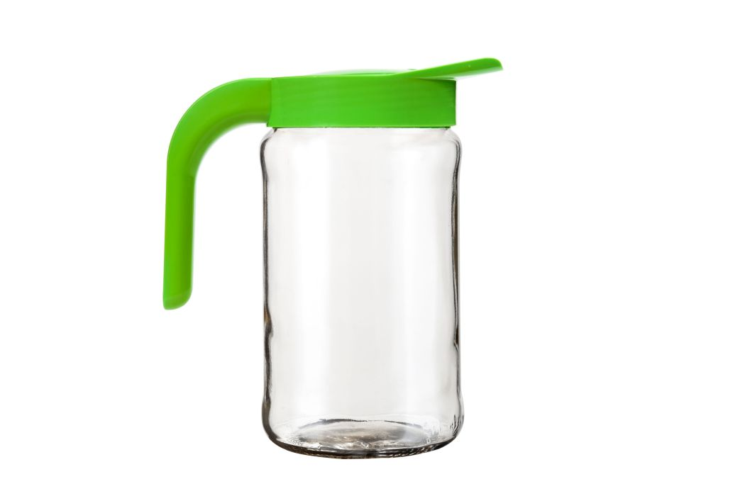 džbán 1,54l BOCHONOCK  sklo+víko UH zelené