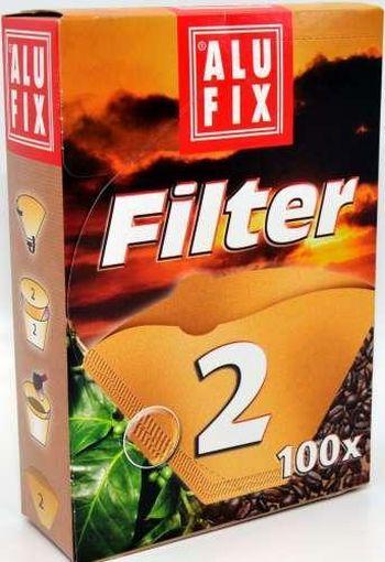 filtry 2/100ks na kávu, papír