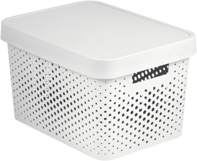 box 17,0l INFINITY díry, bílý, 36,3x27x22,2cm