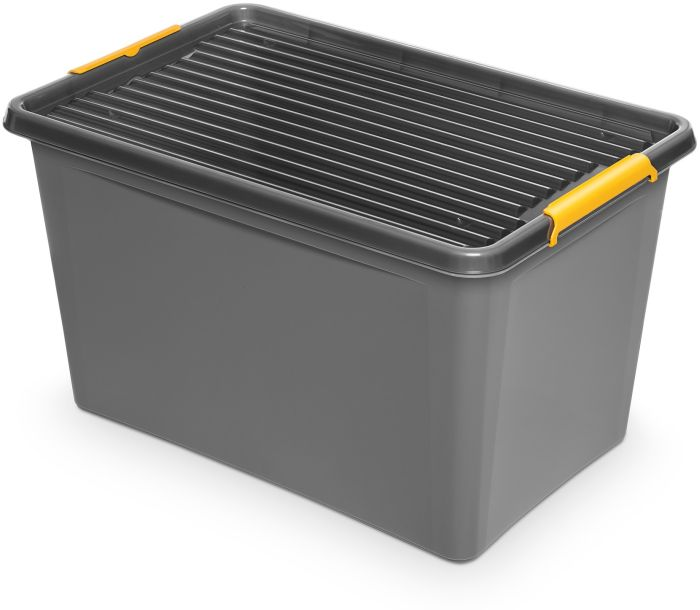 box 60,0l 58x39x35cm,SOLIDST., koleč.,.grafit,plas