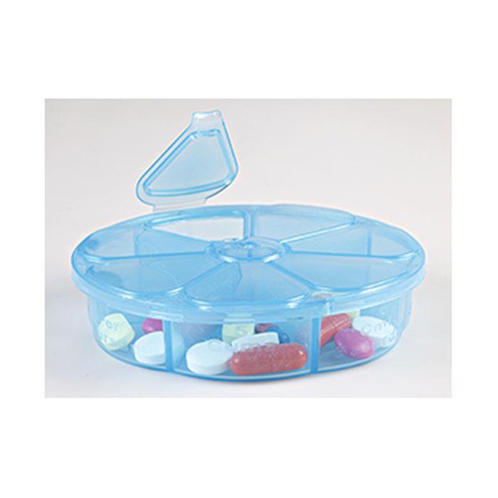 organizér na léky, týdenní, plast