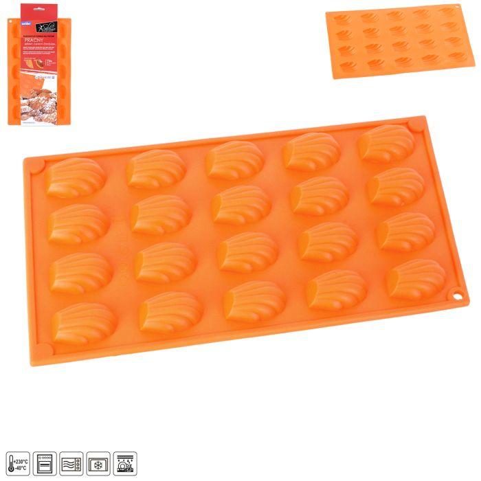 forma pracky 20-silikon 29x17x1cm, oranž