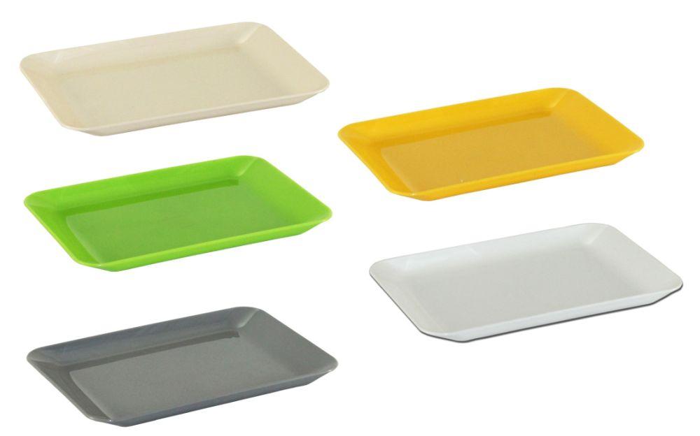 podnos 19x13x1,5cm-121,MIX barev,plast
