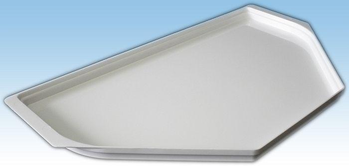 podnos 53x30cm, zkos.bílý, -30-70°C