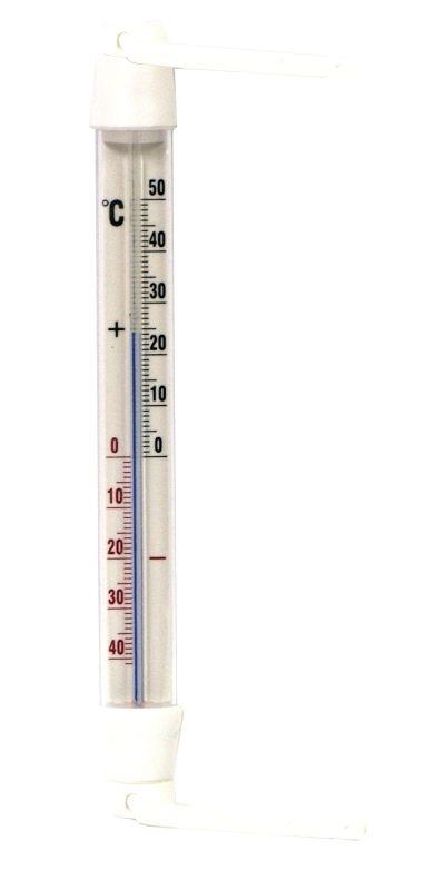 teploměr 20,0x2cm okenní, -40°+50°C, PRIMA,plast