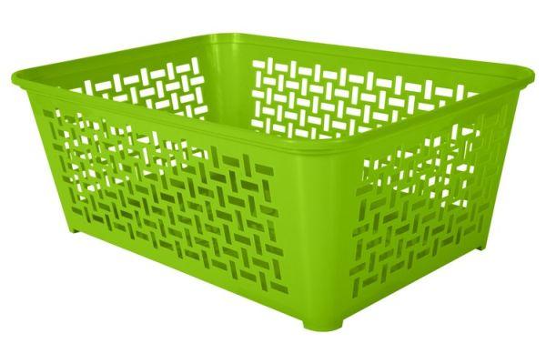 košík DOMINO 3, 30x20x11,1cm,plast