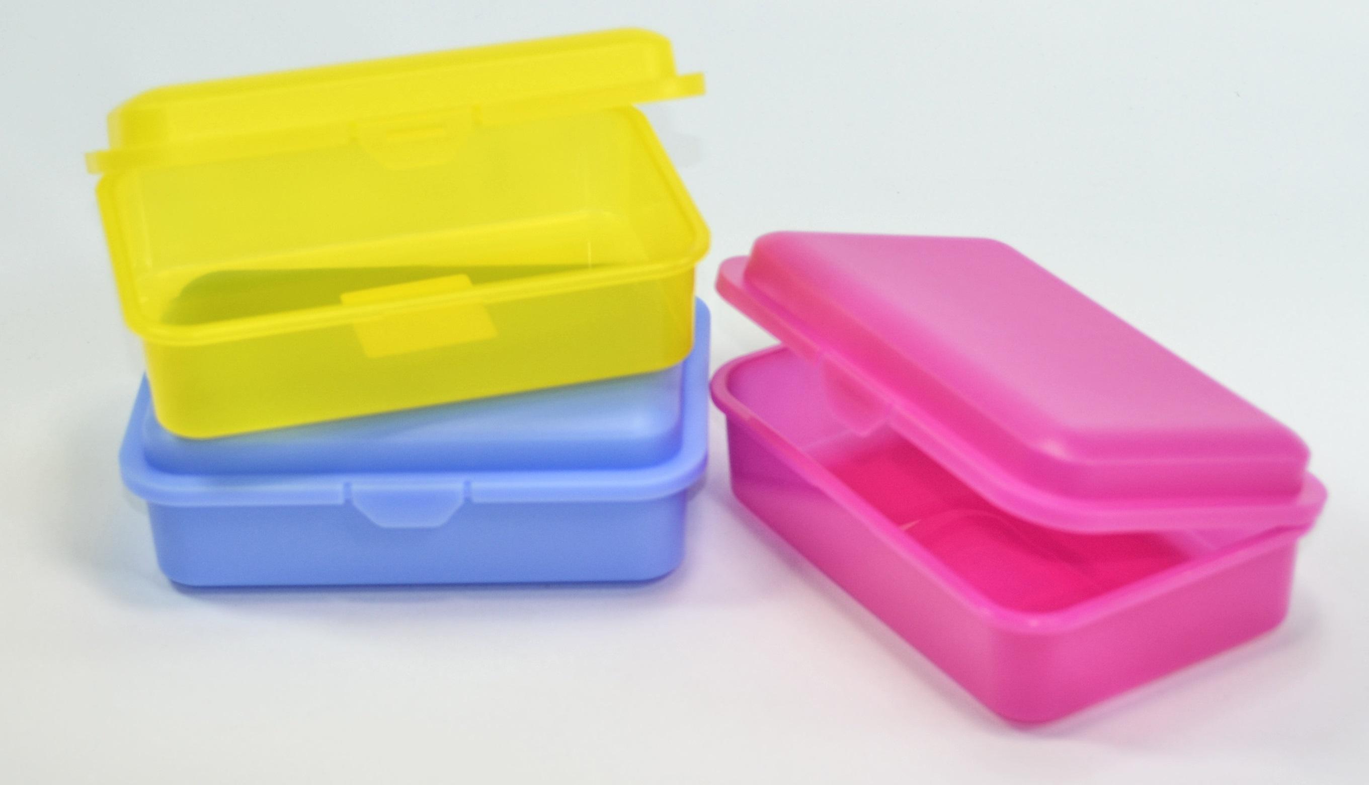 box  0,80l střední, klick uz., 16x11x5,5cm, plast