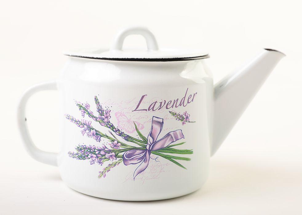 čajník 1,0l+pokl.OLYMP-LEVANDULE, smalt