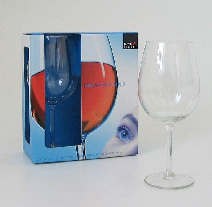 sklen. 580ml, 2ks, PROPORTIONS víno