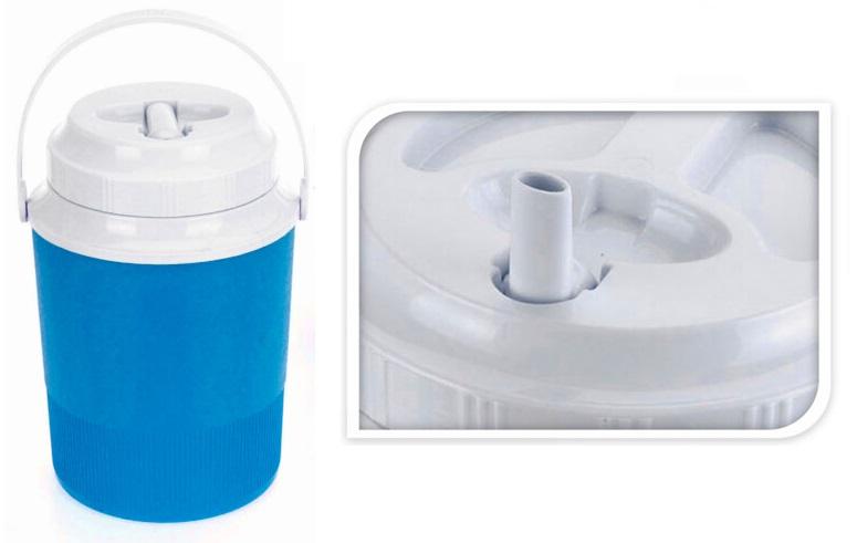nádoba na vodu termo 2,4l, 17x17x24,8cm
