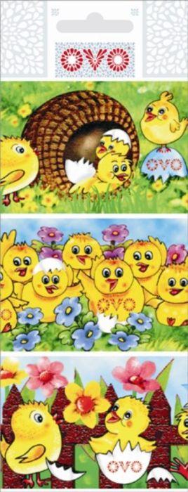 velikonoce-fólie OVO kuřátka smršťovací