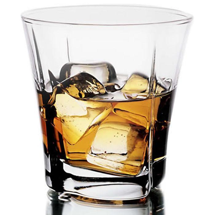 sklen. 280ml, 6ks, TRUVA v.9cm - whisky