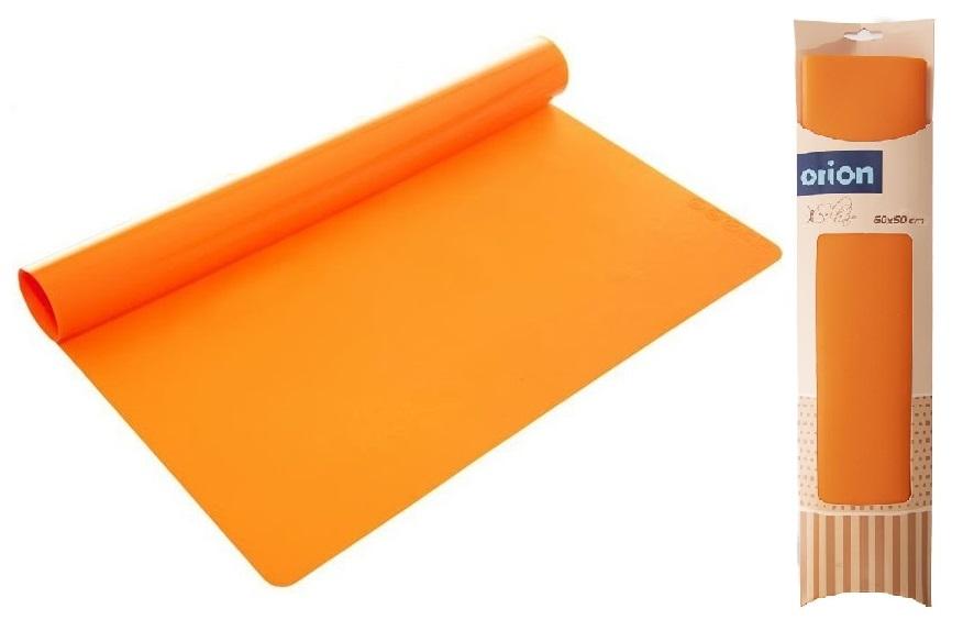 vál 60x50x0,08cm kuchyňský, silikon, oranž.