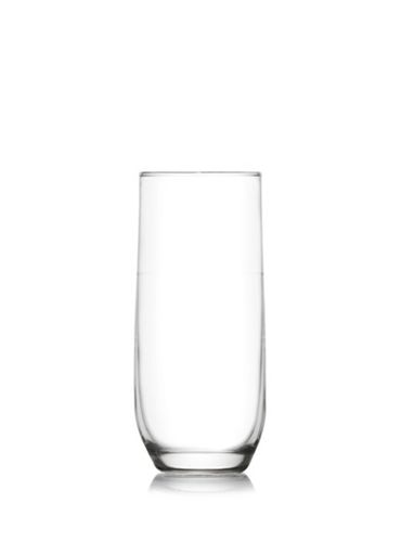 sklen. 315ml, 6ks, SUDE v.14cm-long drink