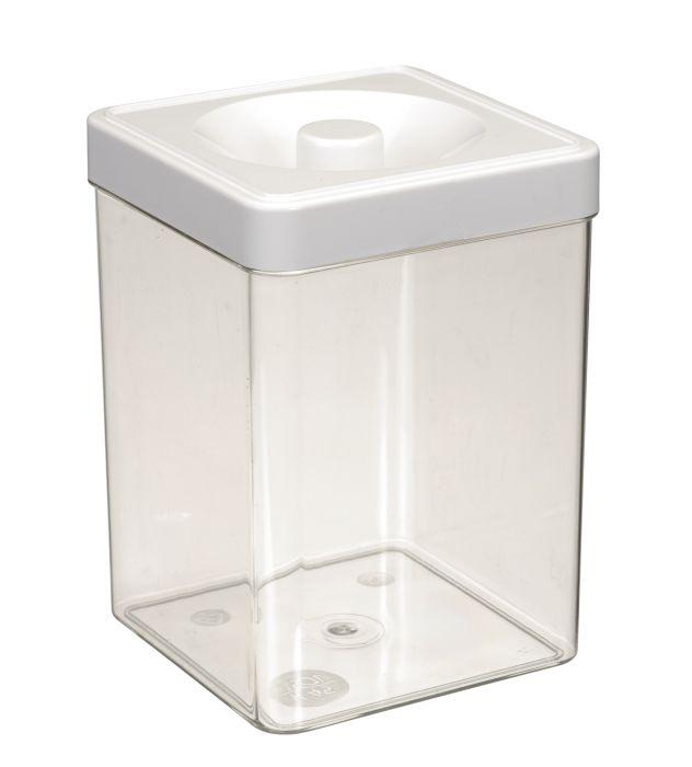 dóza 1,50l 11,0x11,0x16,0cm, čtverc., plast