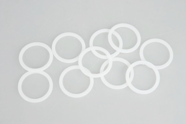 kroužek d16 /20ks/-bílý