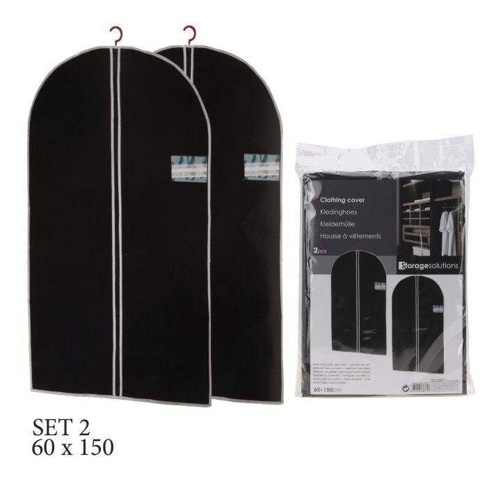 obal na oděv 2ks-150x60cm