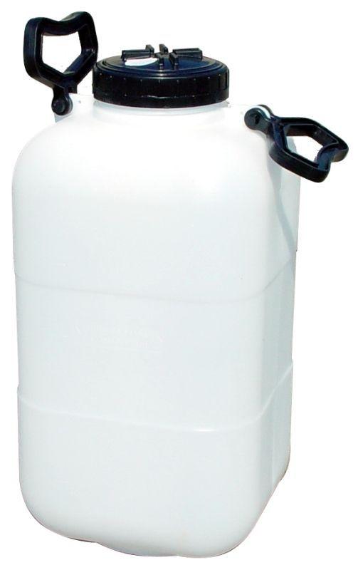 konev  25l-láhev širokohrdlá 115mm, hranatá,plast