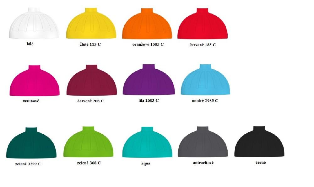 víčko,vč.těsnění FW lahve bez zátky,MIX barev