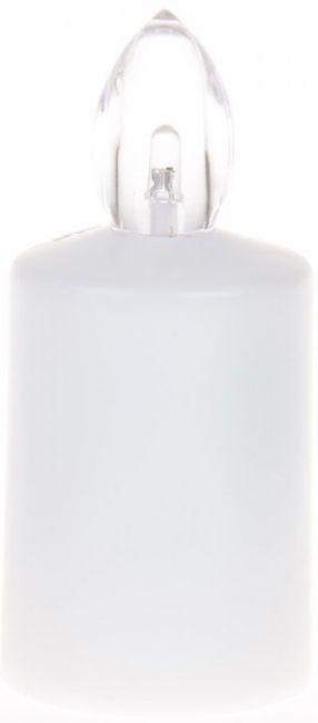svíčka  1ks LED červ./bílá LED ZE3, 88dní, hřbit.