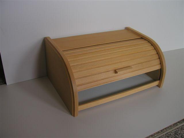 chlebovka 38x28x18cm, světlá, dřevěná