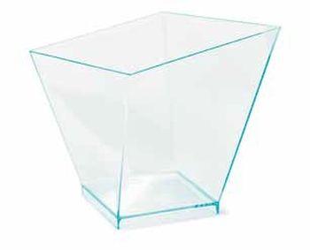 pohárek 180ml 4boký Coppa Charme 72x72x76mm,plast