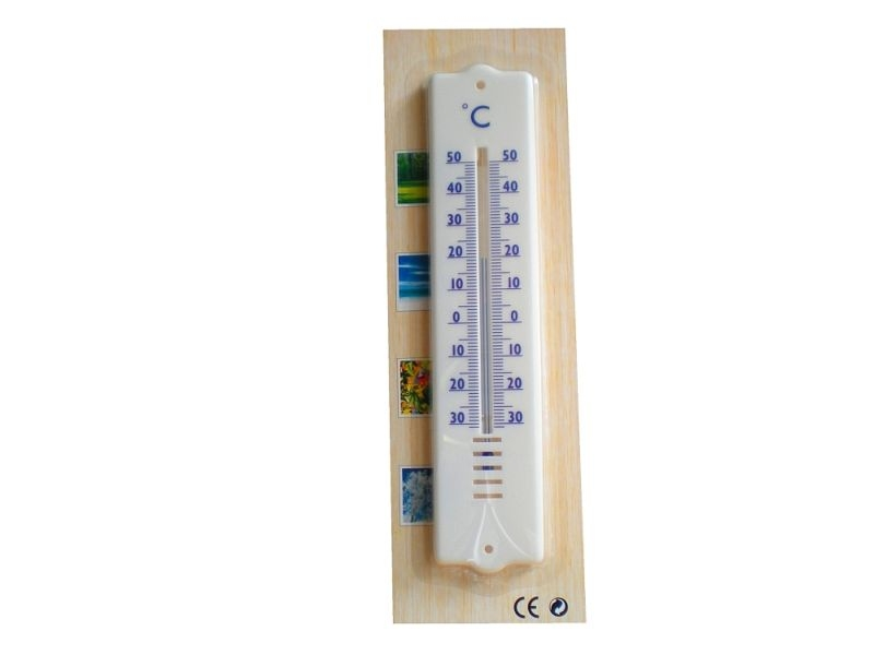 teploměr 21,0cm univ., -30°C+50°C, plast