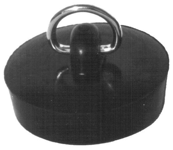 zátka umyv.d39-1/1/4 palce, černá bal.