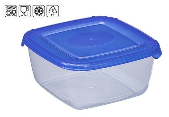 box  0,46l, čtverc. POLAR, 11,4x11,4x5,6cm, plast