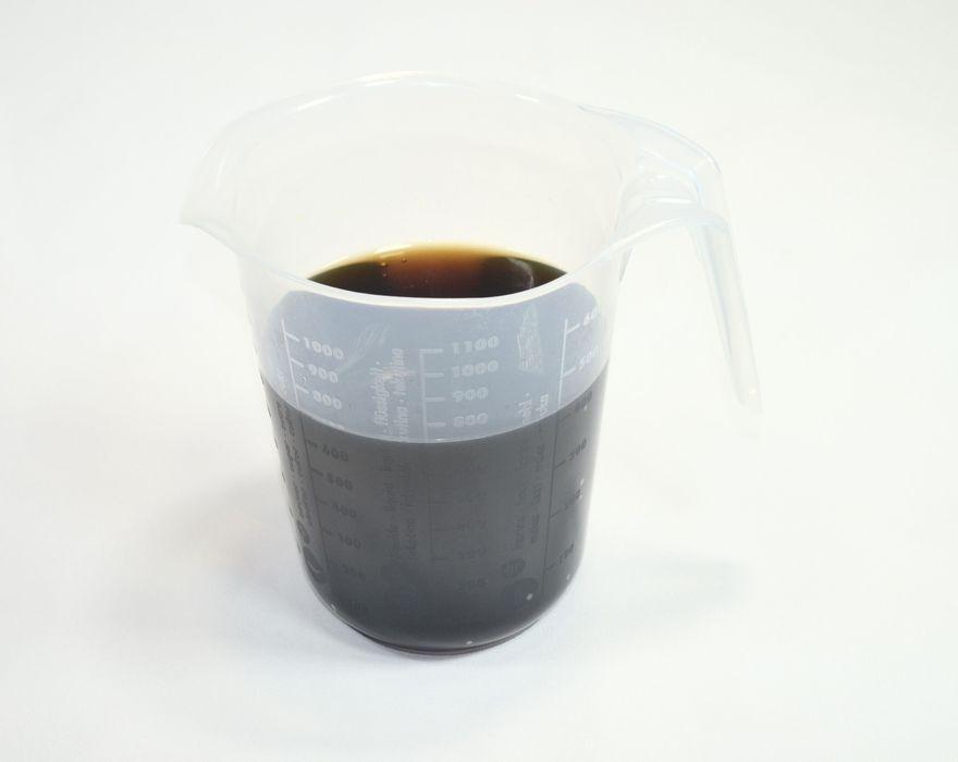 odměrka 1,0l, d15x16cm, transp.plast