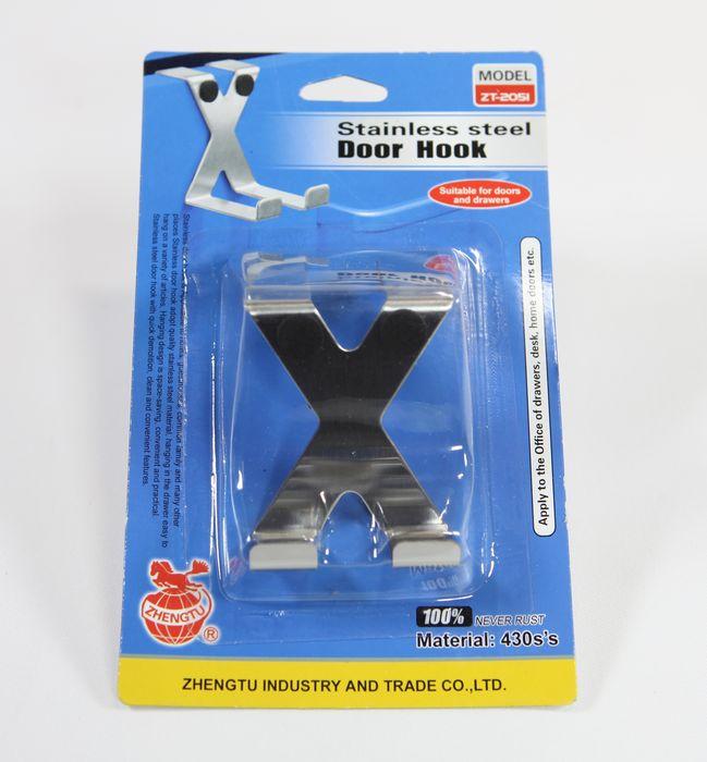 háček-1ks-X-NR, delší háček, závěsný na dveře