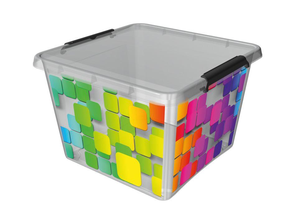 box 32,0l 39x39x26cm,KOSTKY,děts. plast