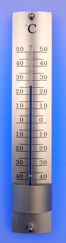 teploměr 21,5x4x2cm, univ., -40°C+50°C, AL