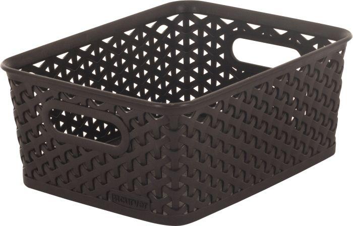 koš-box 25x20x10cm-ratan,hnědý Y-StyleS