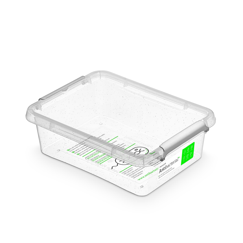 antibakter.box  1,15 l 19,5x15x6cm,transp.plast