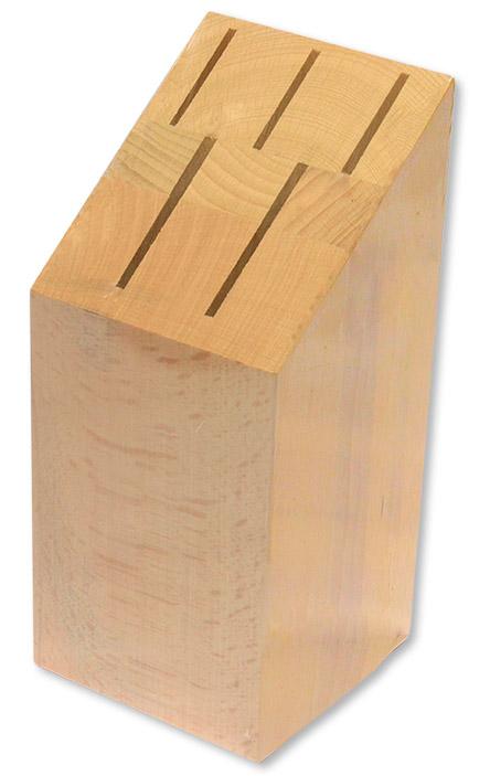 blok na  5nožů přírodní, dřevo