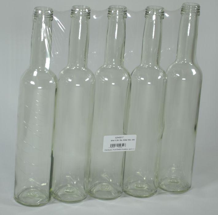 láhev 0,35l- 5ks, Ejliker Alko, sklo PO25,10,