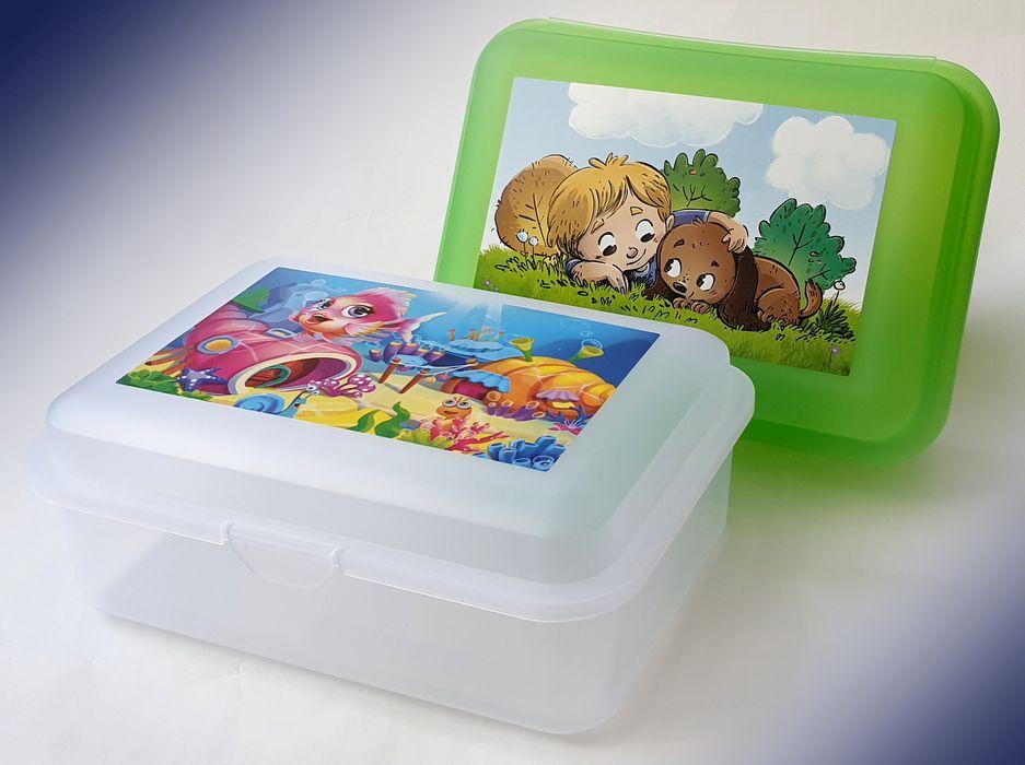 box  1,50l, svačina, Dětský dek, 18x13x7cm, plast