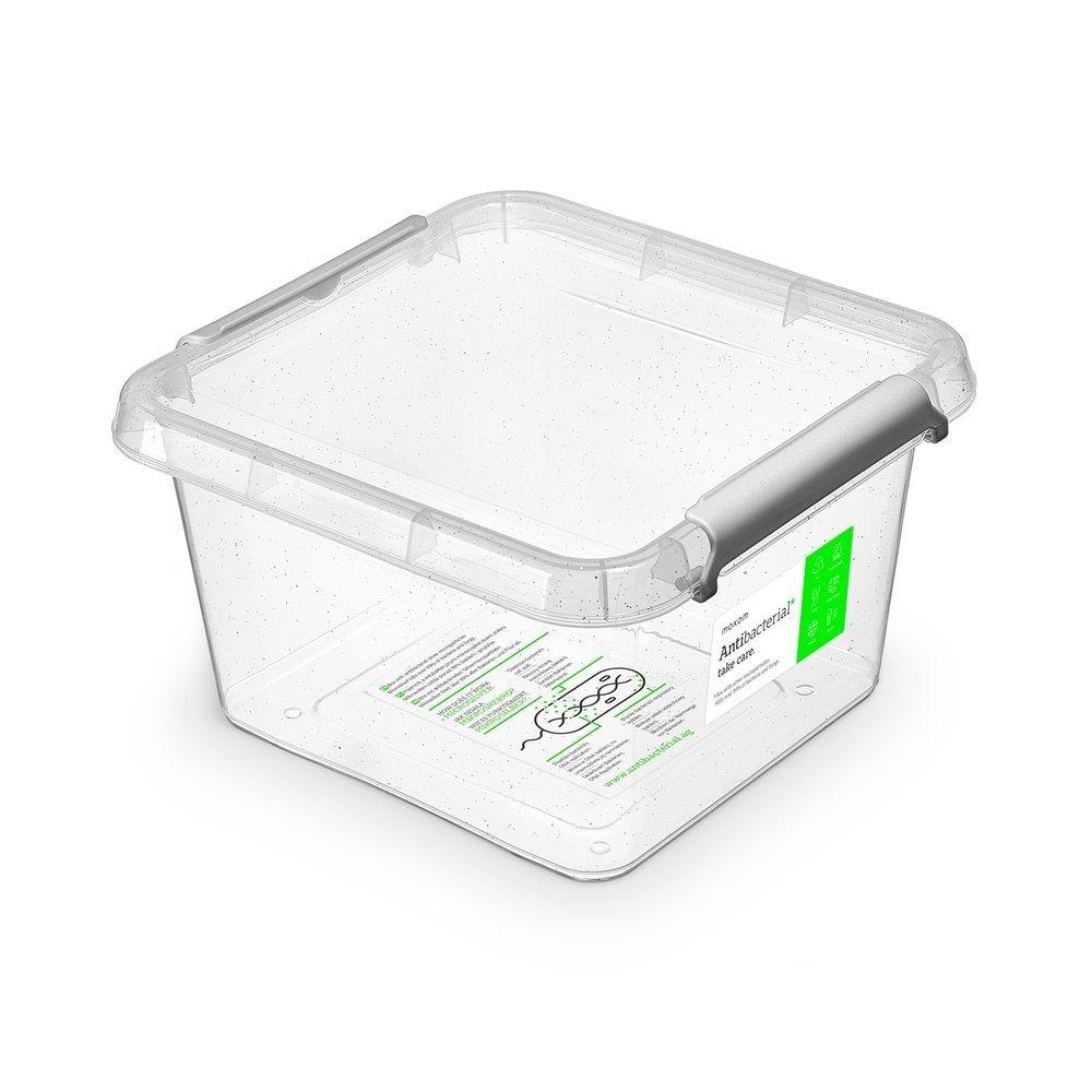 antibakter.box  3,0 l 20x20x12cm,transp.plast