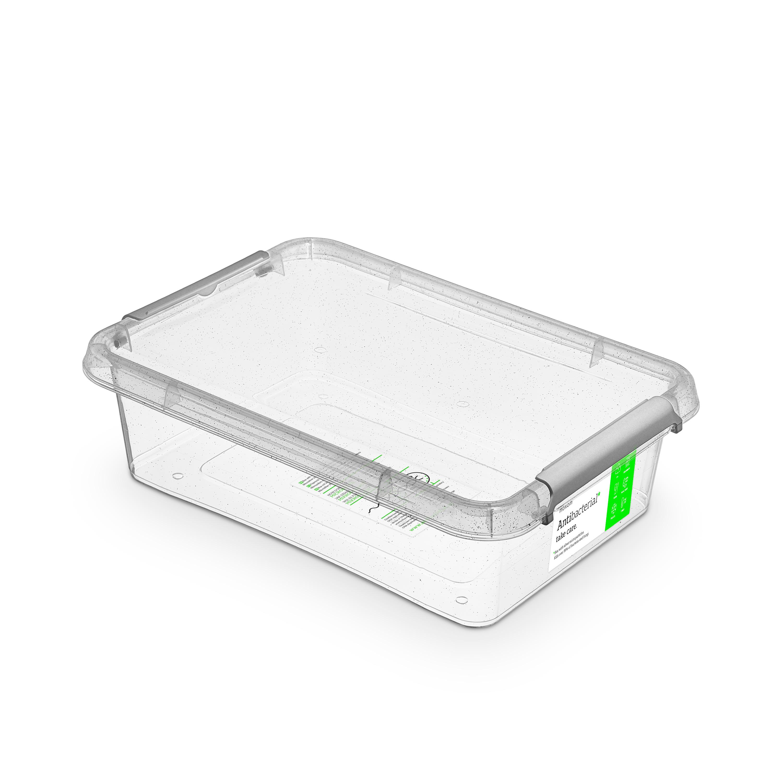 antibakter.box  8,5 l 39x29x11,transp.plast