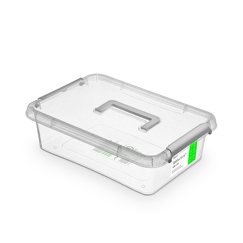 antibakter.box  8,5 l 39x29x11,rukojeť,transp.plas