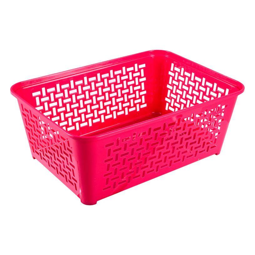 košík DOMINO 4, 36,4x25,8x14cm,plast