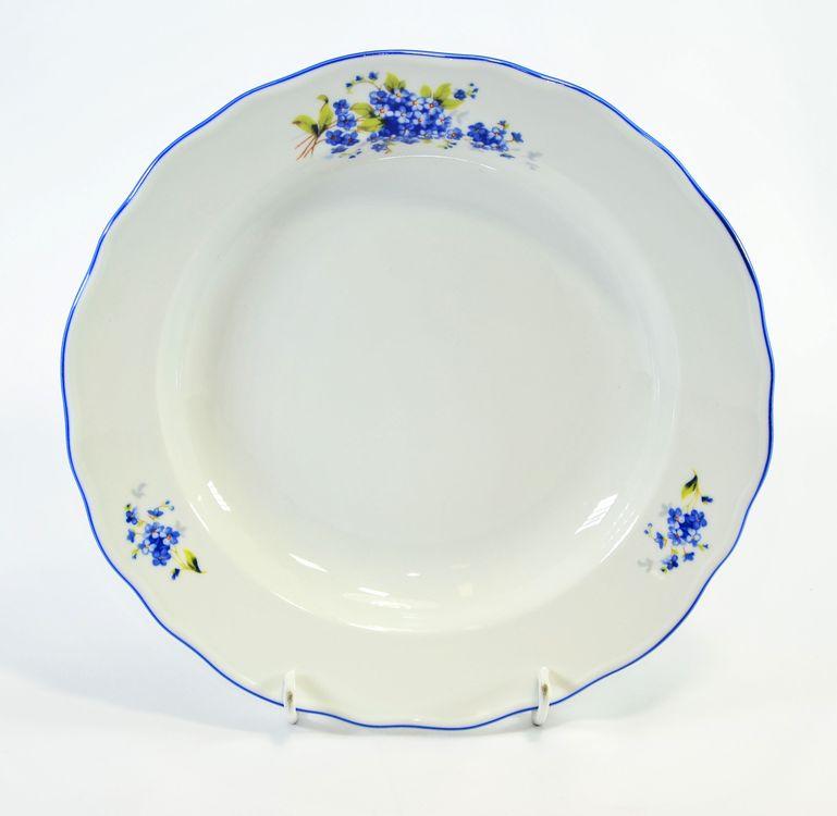 talíř d24cm hluboký POMNĚNKY, čes.porcelán
