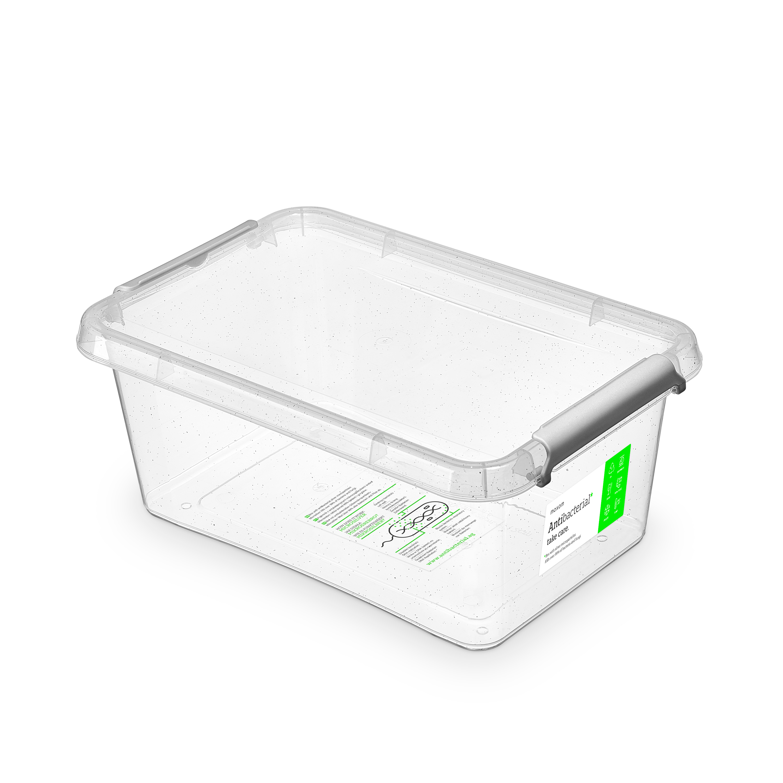 antibakter.box  4,5 l 29x20x12cm,transp.plast