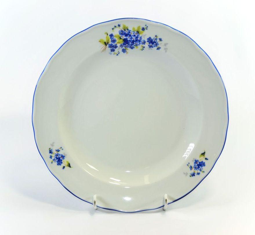 talíř d24cm mělký POMNĚNKY, čes.porcelán