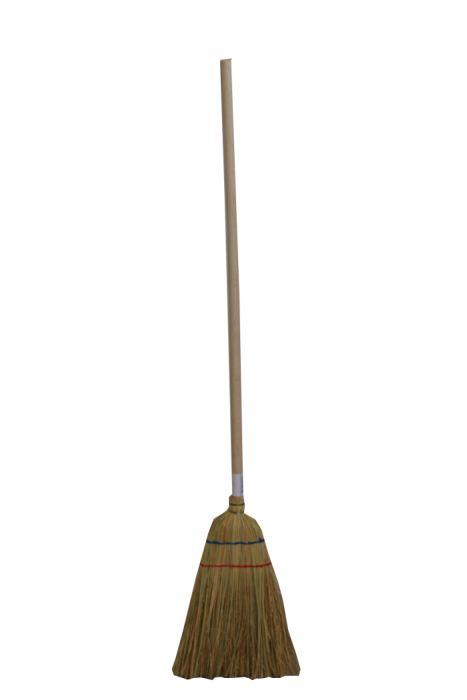 koště dětské čirokové, hůl 100cm