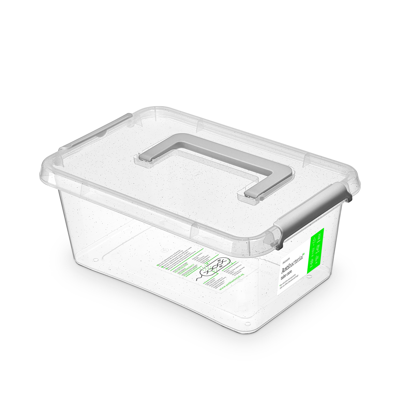 antibakter.box  4,5 l 29x20x12cm,rukojeť,transp.pl