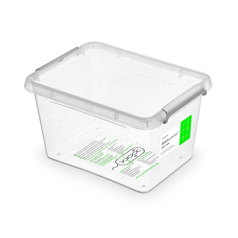 antibakter.box  2,0 l 19,5x15x11cm,transp.plast