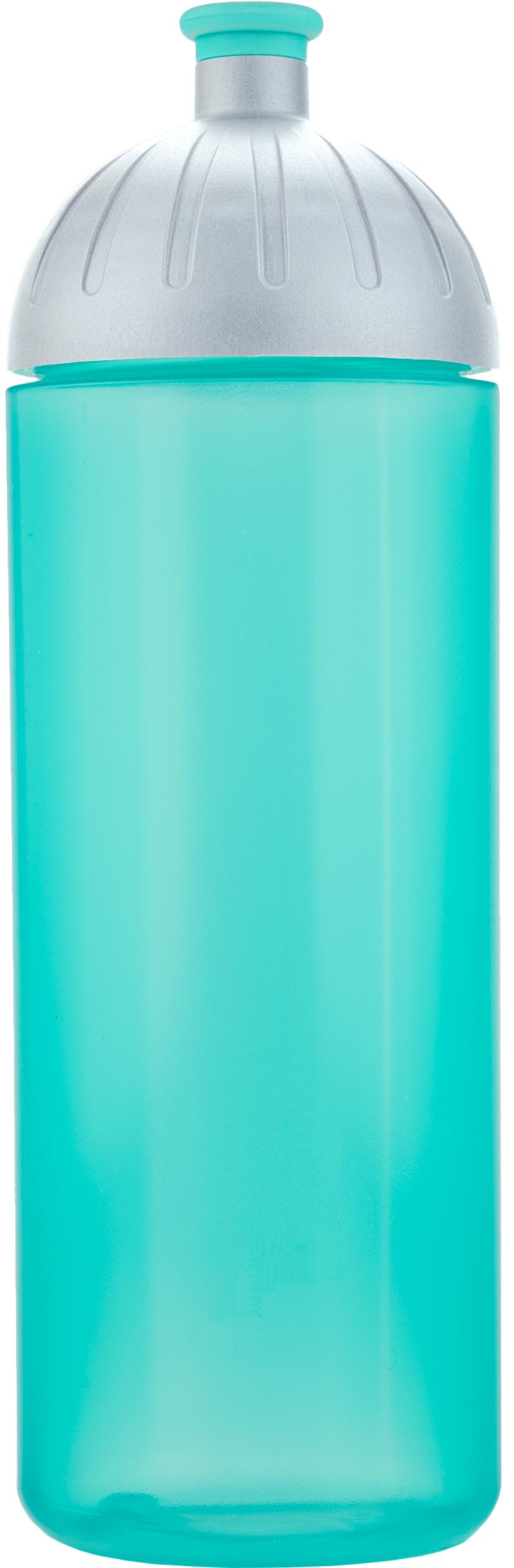 FreeWater lahev 0,7l AQUA+víčko stříbrné
