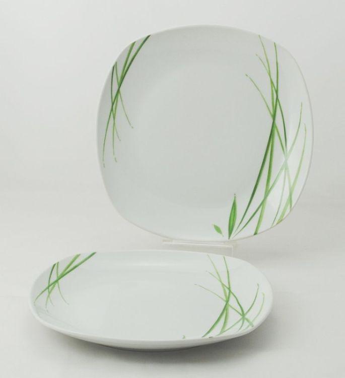 talíř d25,0cm mělký, DELIA, porcelán